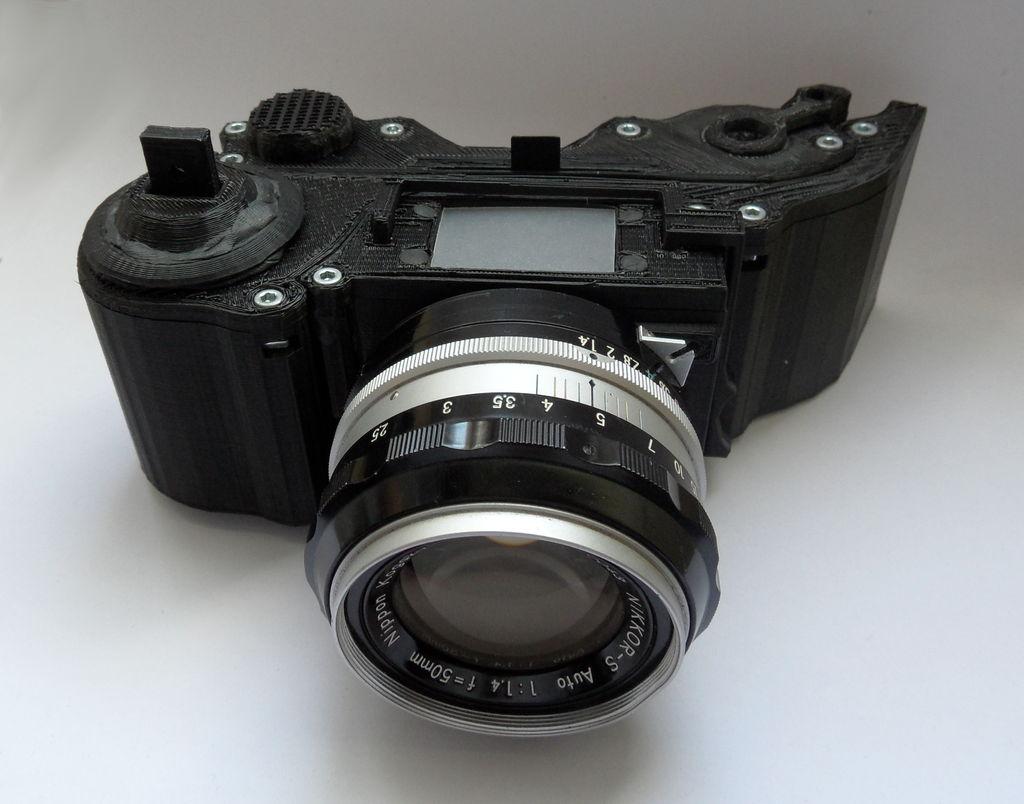 Construye una cámara de fotos de 35mm en casa
