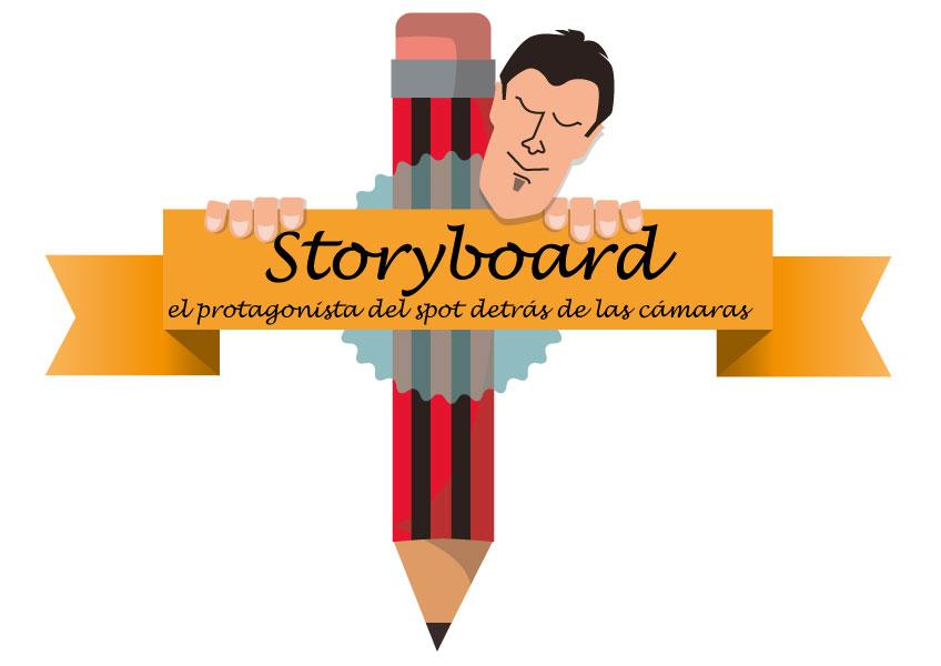 Storyboard: es el protagonista del spot detrás de las cámaras